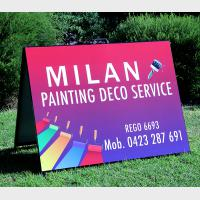 Painting Service A-Frame Sign
