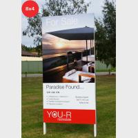 Photo Signs - Rentals 8x4 (2400x1200mm)