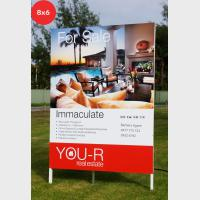 Photo Signs - Rentals 8x6 (2400x1800mm)