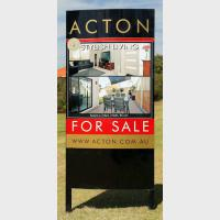 For Sale Action – Custom Signage
