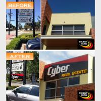 Cyber Real Estate Custom Signs