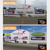 gloucester park signs before and after