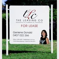 TLC For Lease Sign